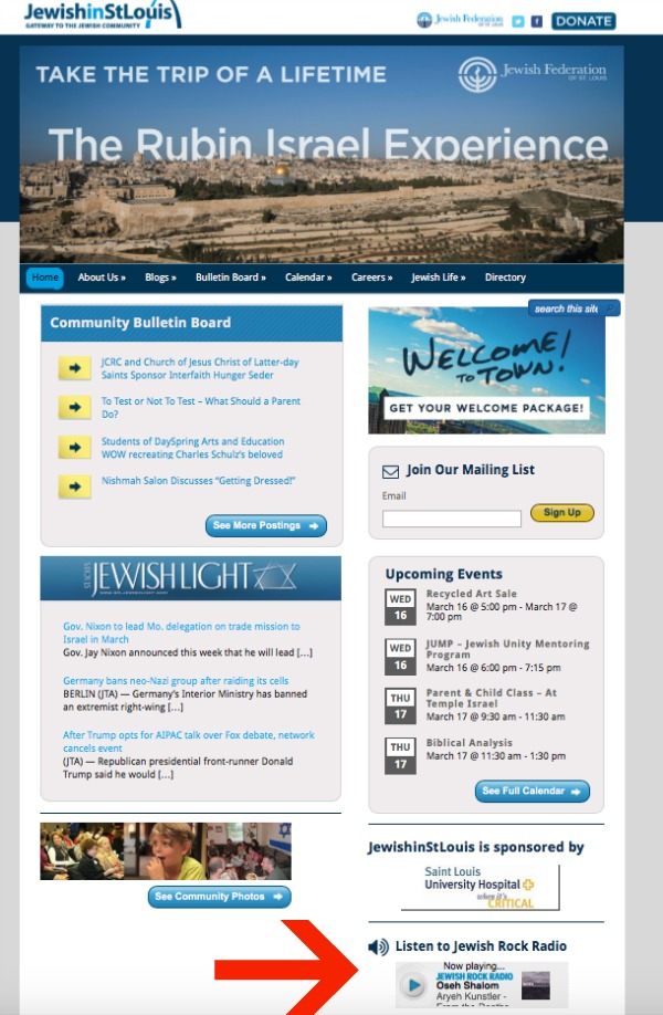 jewish in st louis screen shot