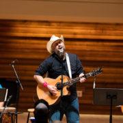Joe Buchanan performs at NewCAJE 2016 © Zach Dalin Photography