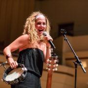 Naomi Less performs at NewCAJE 2016 © Zach Dalin Photography