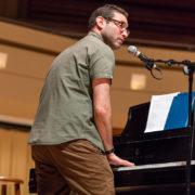 Jay Rapoport performs at NewCAJE 2016 © Zach Dalin Photography
